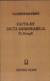 Factorum et dictorum memorabilium libri novem