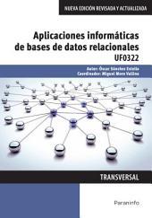 UF0322 - Aplicaciones informáticas de bases de datos relacionales