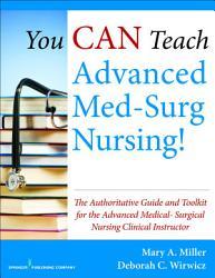 You Can Teach Advanced Med Surg Nursing  Book PDF