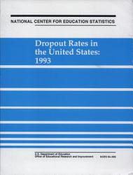 Dropout Rates In The United States 1993 Book PDF