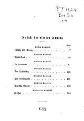 Schubart und seine Zeitgenossen: Historischer Roman, Band 4
