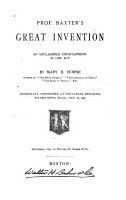 Prof  Baxter s Great Invention PDF