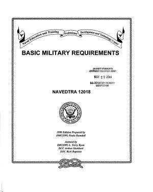 Basic Military Requirements PDF