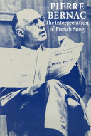The Interpretation of French Song PDF