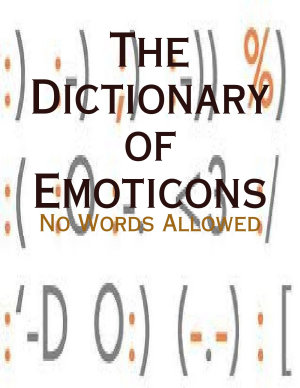The Dictionary of Emoticons   No Words Allowed