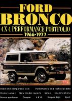 FORD BRONCO  4X4 PERFORMANCE PORTFOLIO 1966 1977 PDF