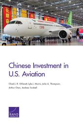 Chinese Investment in U.S. Aviation