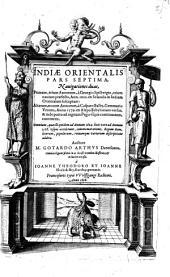 India orientalis: Volume 7