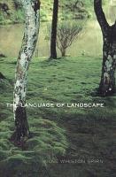 The Language of Landscape PDF