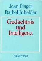 Ged  chtnis und Intelligenz PDF