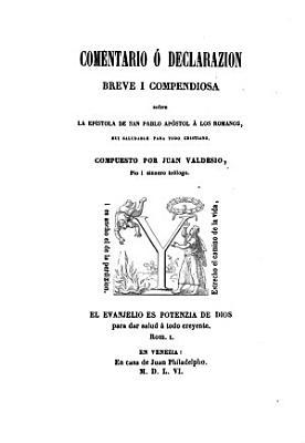 La epistola de San Pablo a los Romanos i la I  a los Corintios  ambas traduzi  das i comentadas PDF