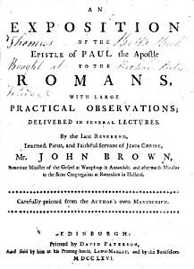 An Exposition of the Epistle of Paul the Apostle to the Romans PDF