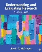 Understanding and Evaluating Research PDF
