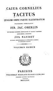 Caii Cornelii Taciti quae exstant omnia opera