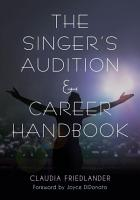 The Singer s Audition   Career Handbook PDF