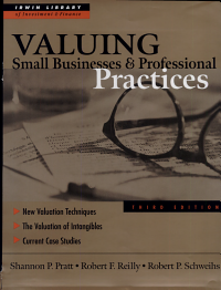Valuing Small Businesses and Professional Practices