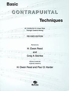 Basic Contrapuntal Techniques PDF