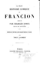 La vraie histoire comique de Francion