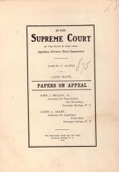 In the Supreme Court of the State of New York Appellate Division-Third Department