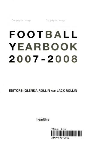 Sky Sports Football Yearbook 2006 2007