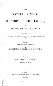 The Natural & Moral History of the Indies: Issue 61, Part 1