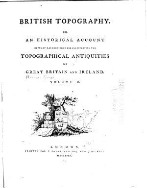 British Topography PDF