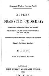 Murray's modern cookery book. Modern domestic cookery, by a lady