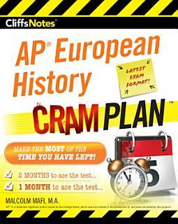 CliffsNotes AP European History Cram Plan Book