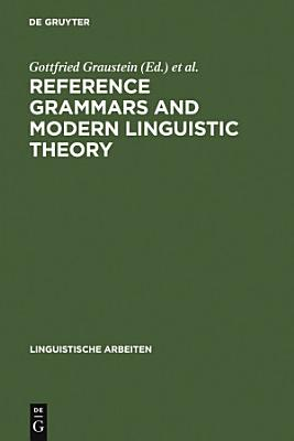 Reference Grammars and Modern Linguistic Theory PDF