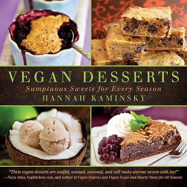 Download Vegan Desserts Book