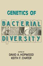 Genetics of Bacterial Diversity PDF