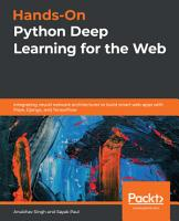 Hands On Python Deep Learning for the Web PDF