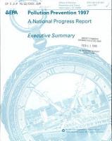 Pollution Prevention 1997 PDF