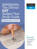 The Official SAT Subject Test in Mathematics Level 2 Study Guide Book