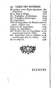 Cours de mathématiques à l'usage des Gardes du Pavillon et de la Marine: avec les suites, Volume1