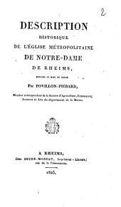 Description historique de l'église métropolitaine de Notre-Dame de Rheims