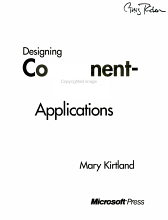 Designing Component based Applications PDF