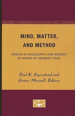 Mind  Matter  and Method PDF