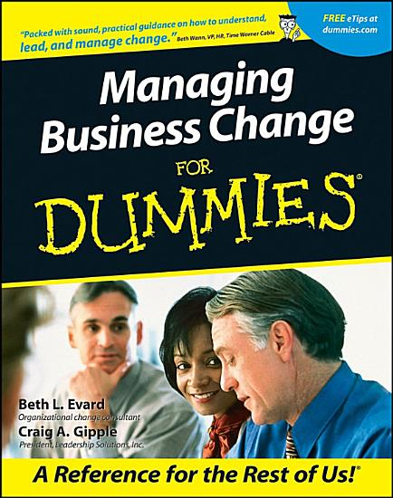 Managing Business Change For Dummies PDF