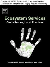 Ecosystem Services: Chapter 18. CICES Going Local: Ecosystem Services Classification Adapted for a Highly Populated Country