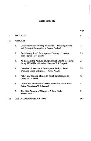 Journal of Rural Reconstruction PDF