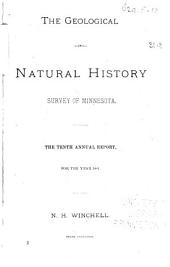 Annual Report - Geological and Natural History Survey of Minnesota: Issue 10