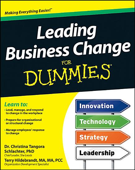 Leading Business Change For Dummies PDF