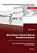 Best Worst Choice Based Conjoint Analyse PDF