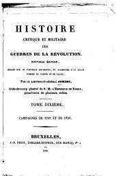Histoire critique et militaire des guerres de la révolution: Volume10