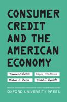 Consumer Credit and the American Economy PDF