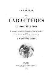 Les caractères, ou Les mœurs de ce siècle