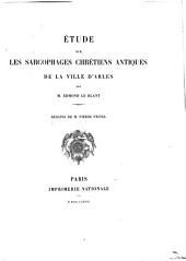 Étude sur les sarcophages chrétiens antiques de la ville d'Arles: Numéro2