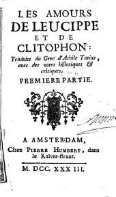 Les amours de Leucippe et de Clitophon