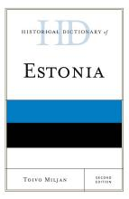 Historical Dictionary of Estonia PDF